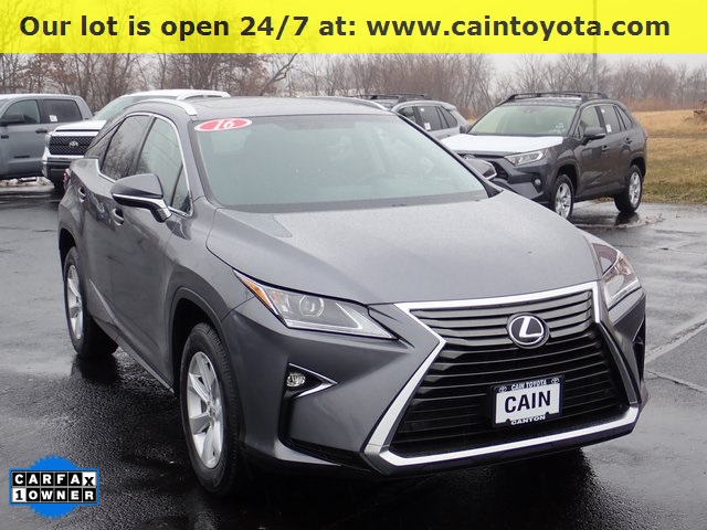 Pre Owned 2016 Lexus Rx 350