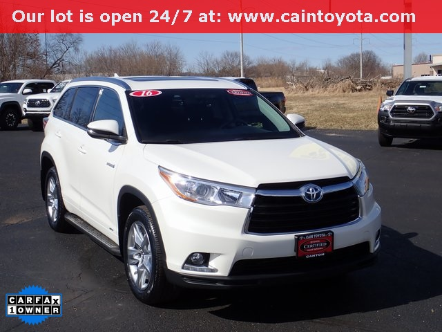 Certified Pre-Owned 2016 Toyota Highlander Hybrid Hybrid Limited