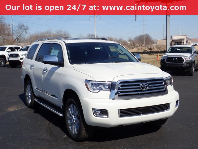 New 2019 Toyota Sequoia Platinum 4d Sport Utility In North Canton