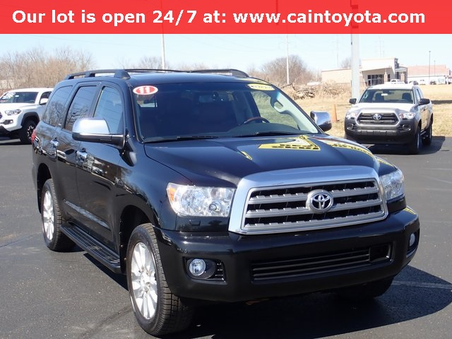 Pre-Owned 2011 Toyota Sequoia Platinum