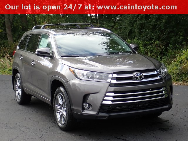 New 2019 Toyota Highlander Limited Platinum 4d Sport Utility In