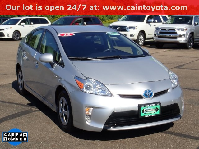 Certified Pre Owned 2017 Toyota Prius Three