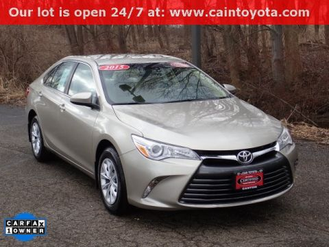 Certified Pre-Owned 2015 Toyota Camry LE FWD 4D Sedan