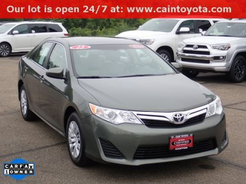 Nice Certified Pre Owned 2013 Toyota Camry LE