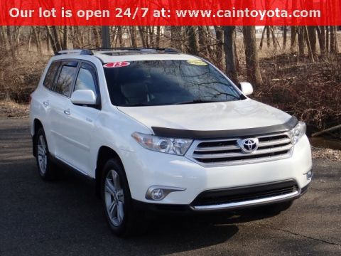 Pre-Owned 2013 Toyota Highlander Limited AWD