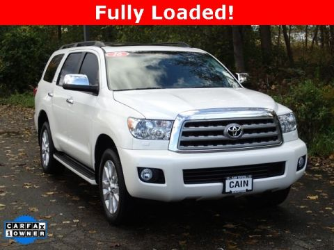 Pre-Owned 2016 Toyota Sequoia Platinum 4WD