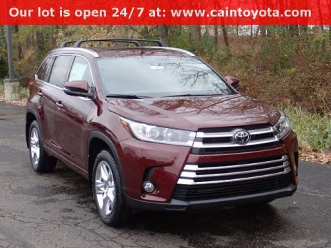 New 2018 Toyota Highlander Limited AWD