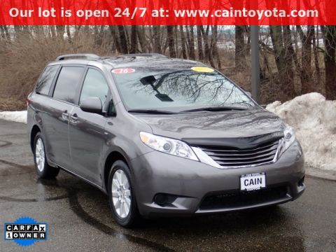 Pre-Owned 2016 Toyota Sienna LE AWD