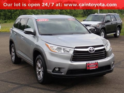 Certified Pre-Owned 2014 Toyota Highlander XLE V6