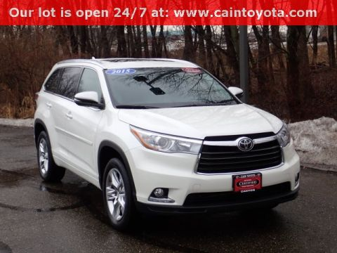 Certified Pre-Owned 2015 Toyota Highlander Limited FWD 4D Sport Utility