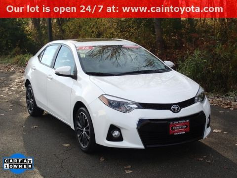 Certified Pre-Owned 2016 Toyota Corolla S Plus FWD 4D Sedan