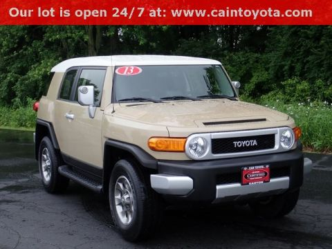 Certified Pre-Owned 2013 Toyota FJ Cruiser Base
